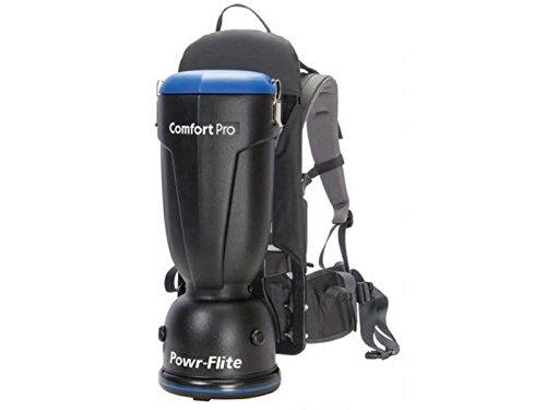 Powr-Flite BP6S Comfort Pro Backpack Vacuum, 6 quart Capacity