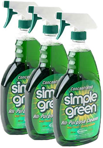 Simple Green 13022 All Purpose Cleaner, 22 oz, Pack of 3