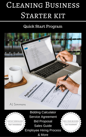 Cleaning Business Starter Kit - Quick Start Program - AJSimmonsOnline.com