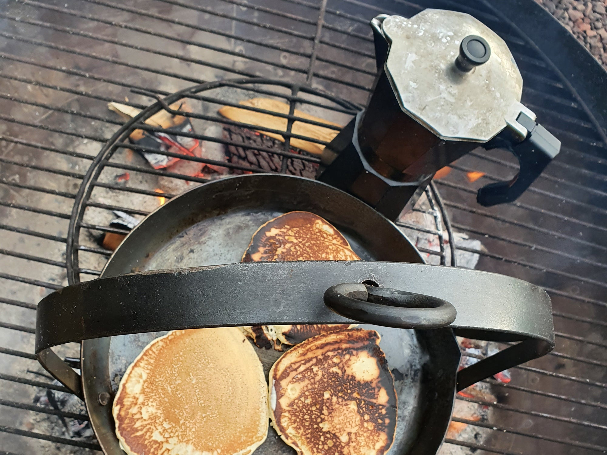 Pancakes! Just add coffee for a perfect start to your weekend.