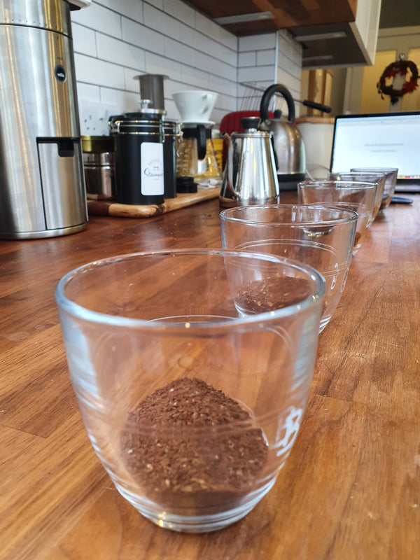 My Experience Cupping Coffee with Steampunk