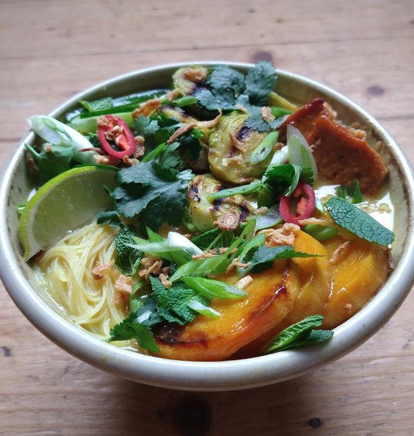 Coconut & Butternut Noodle Broth