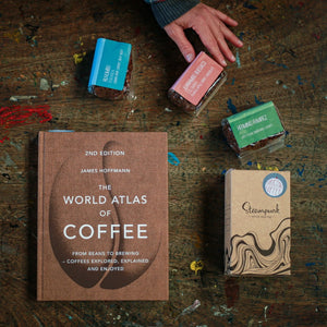 World Atlas of Coffee + 3 Coffee Selection Gift (Steampunk x Mainstreet Collaboration)