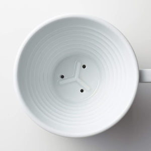 Ceramic Kalita Wave Coffee brewer