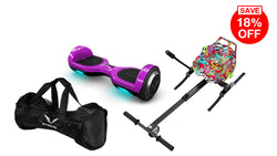 Purple 6.5 - Graffiti Kart Limited Edition Bundle