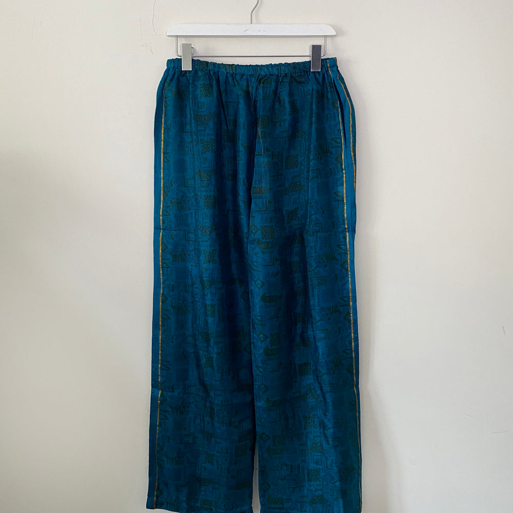 ALEXIS RECYCLED SILK PJ BOTTOMS