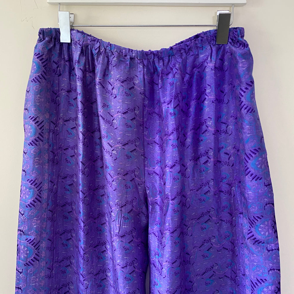 ALISON RECYCLED SILK PJ BOTTOMS