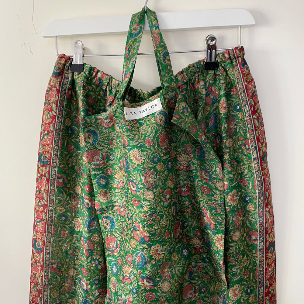 ARIEL RECYCLED SILK PJ BOTTOMS