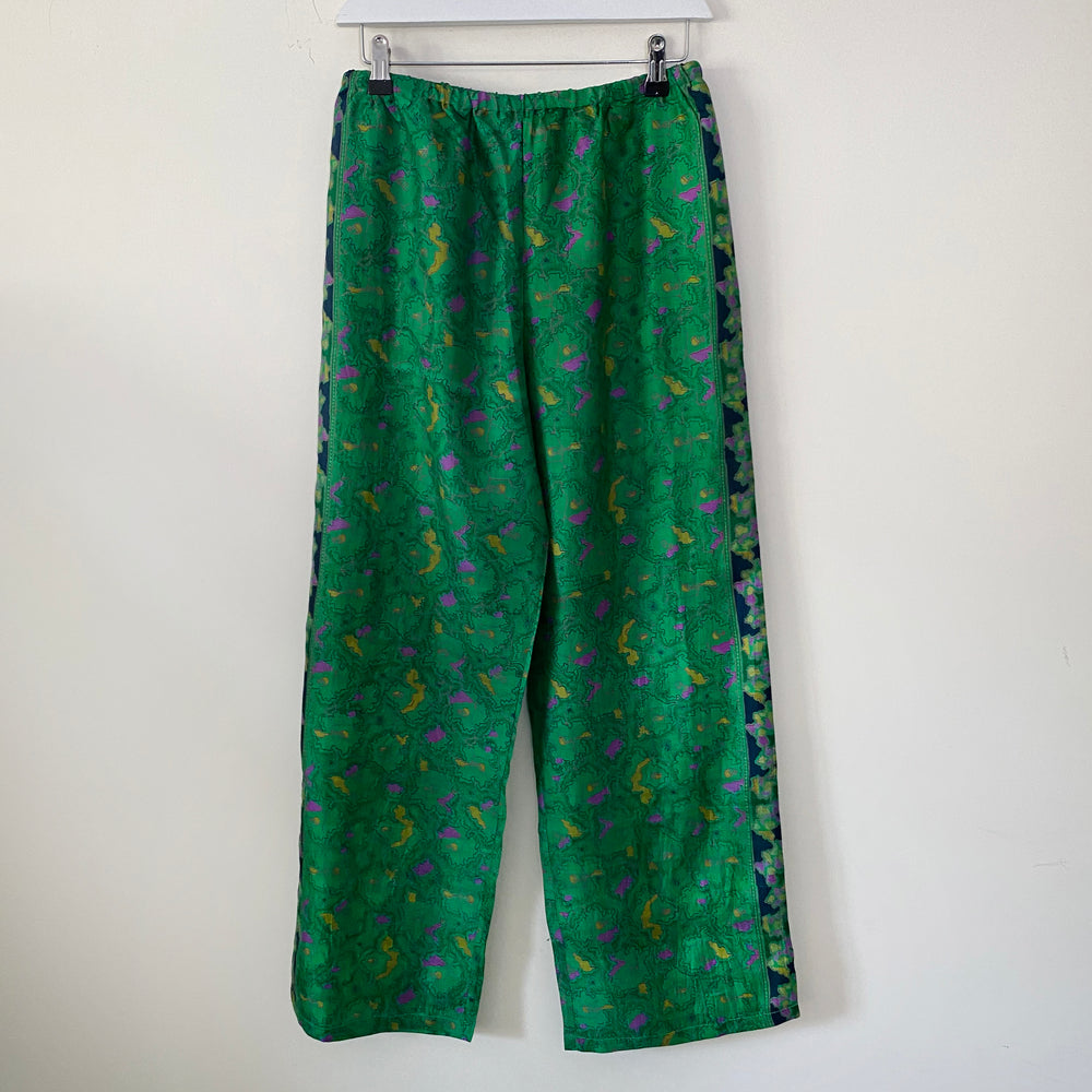 AUDREY RECYCLED SILK PJ BOTTOMS