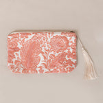 GAURI ORGANIC COTTON TRAVEL BAG IN PINK