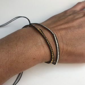 Radha Metallic Friendship Bracelet