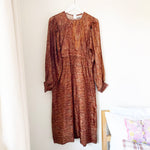 JANE SHEILA RECYCLED SILK DRESS