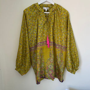 recycled silk sari blouse
