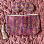 RECYCLED KANTHA TRAVEL BAG AND EYE MASK (8)