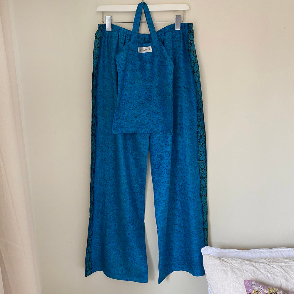 KAY RECYCLED SILK PJ BOTTOMS