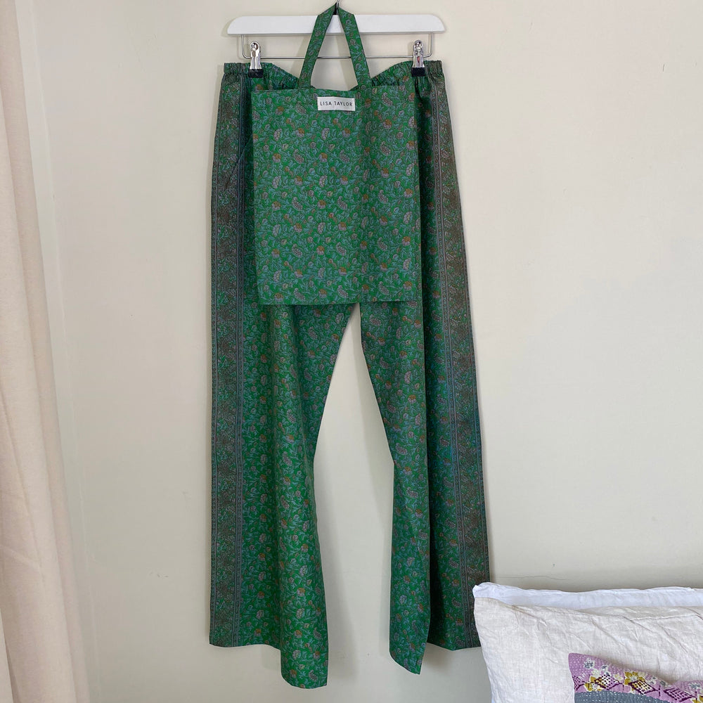 KENNEDY RECYCLED SILK PJ BOTTOMS