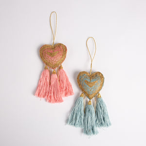 Handcrafted Lakshmi Heart Decoration