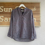 LOU LOU LUMI RECYCLED SARI TOP