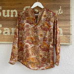 LOU LOU PANDORA RECYCLED SARI TOP