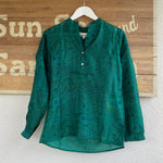 LOU LOU PENNY RECYCLED SARI TOP