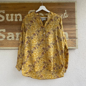 LOU LOU PRINCESS RECYCLED SARI TOP