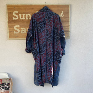 MABEL QUILTED KANTHA COAT