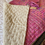 MELODY RECYCLED SILK SARI QUILT AND BAG