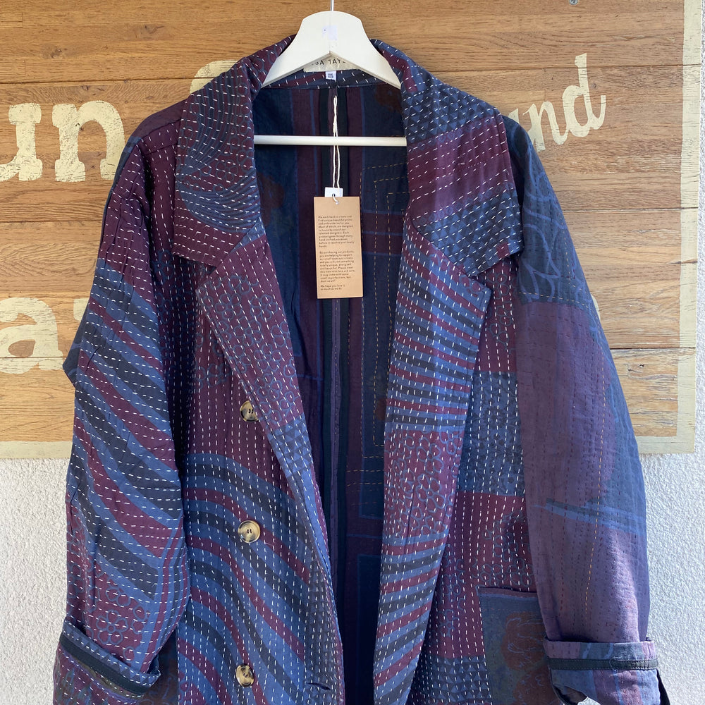 MILLIE QUILTED KANTHA COAT