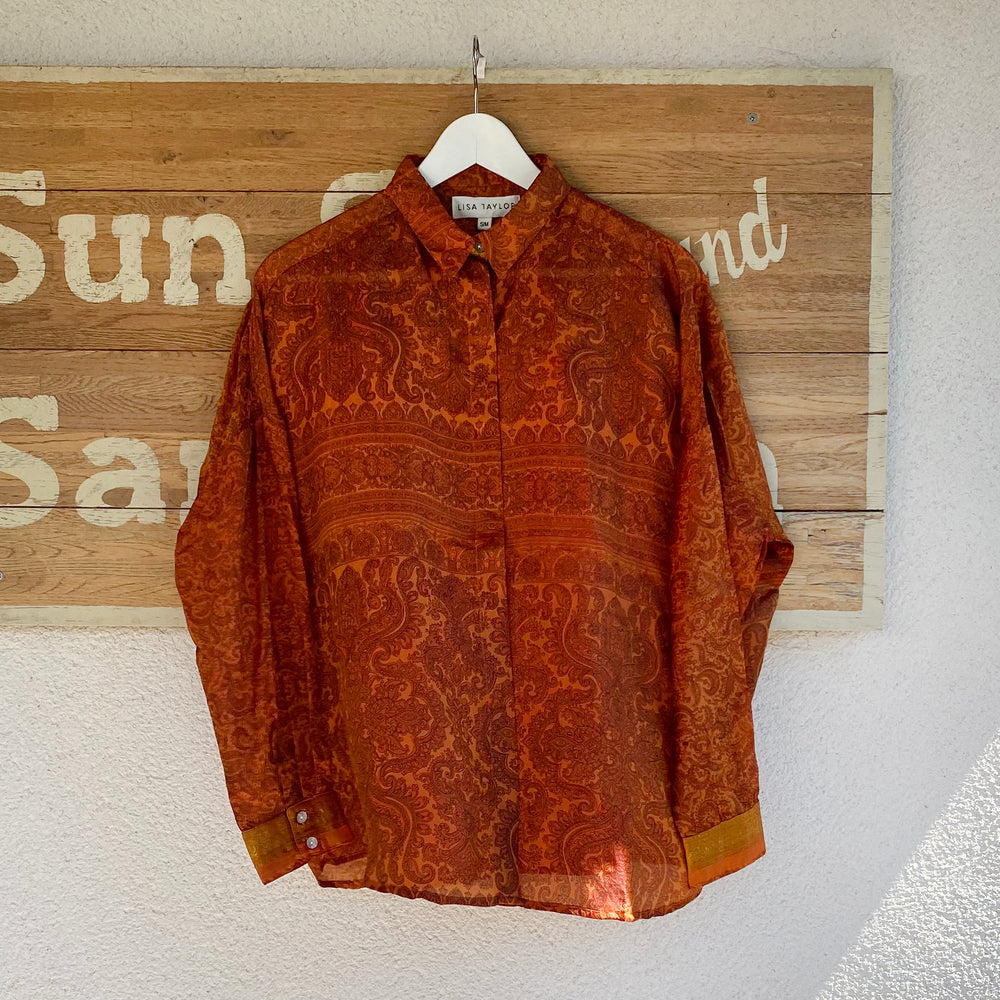 NORMA PAULA RECYCLED SILK SHIRT