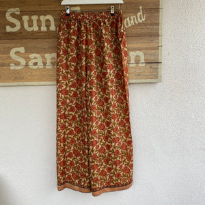 Recycled Silk Sari Palazzo Trousers
