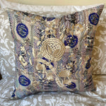 RECYCLED SILK KANTHA CHERRY BLOSSOM EMBROIDERED CUSHION (29)
