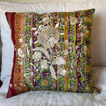 RECYCLED SILK KANTHA CHERRY BLOSSOM EMBROIDERED CUSHION (3)
