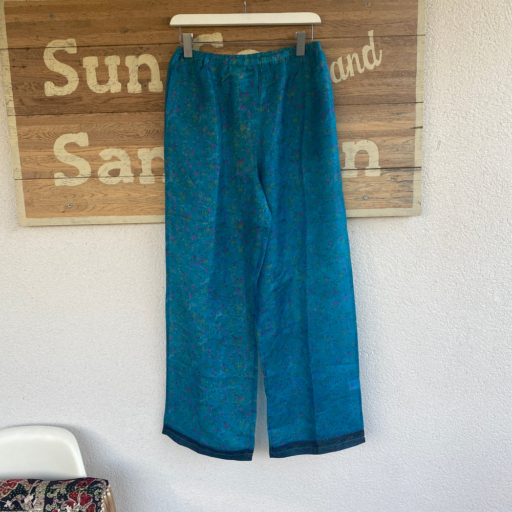 RECYCLED SILK PJ BOTTOMS (103)