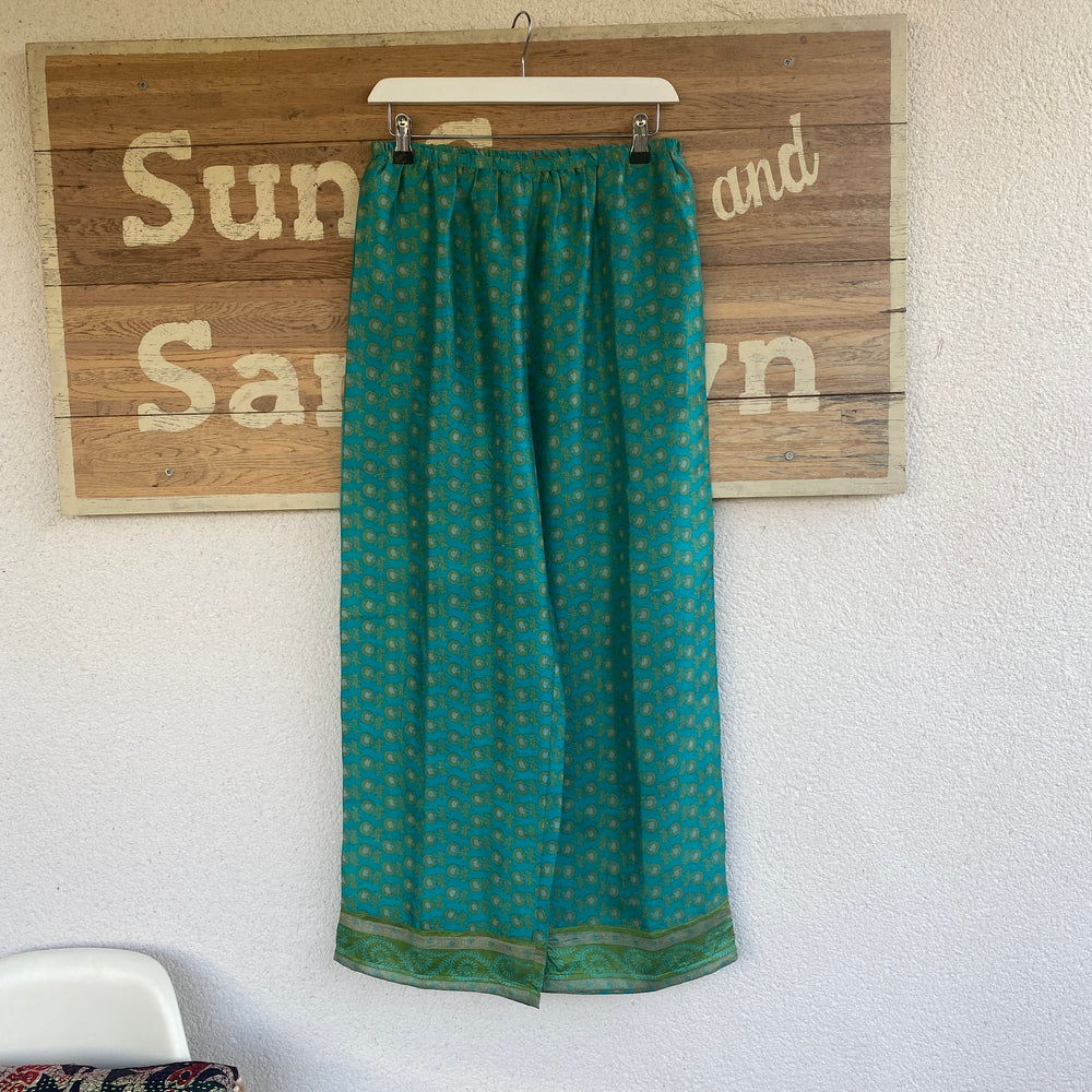 RECYCLED SILK PJ BOTTOMS (108)