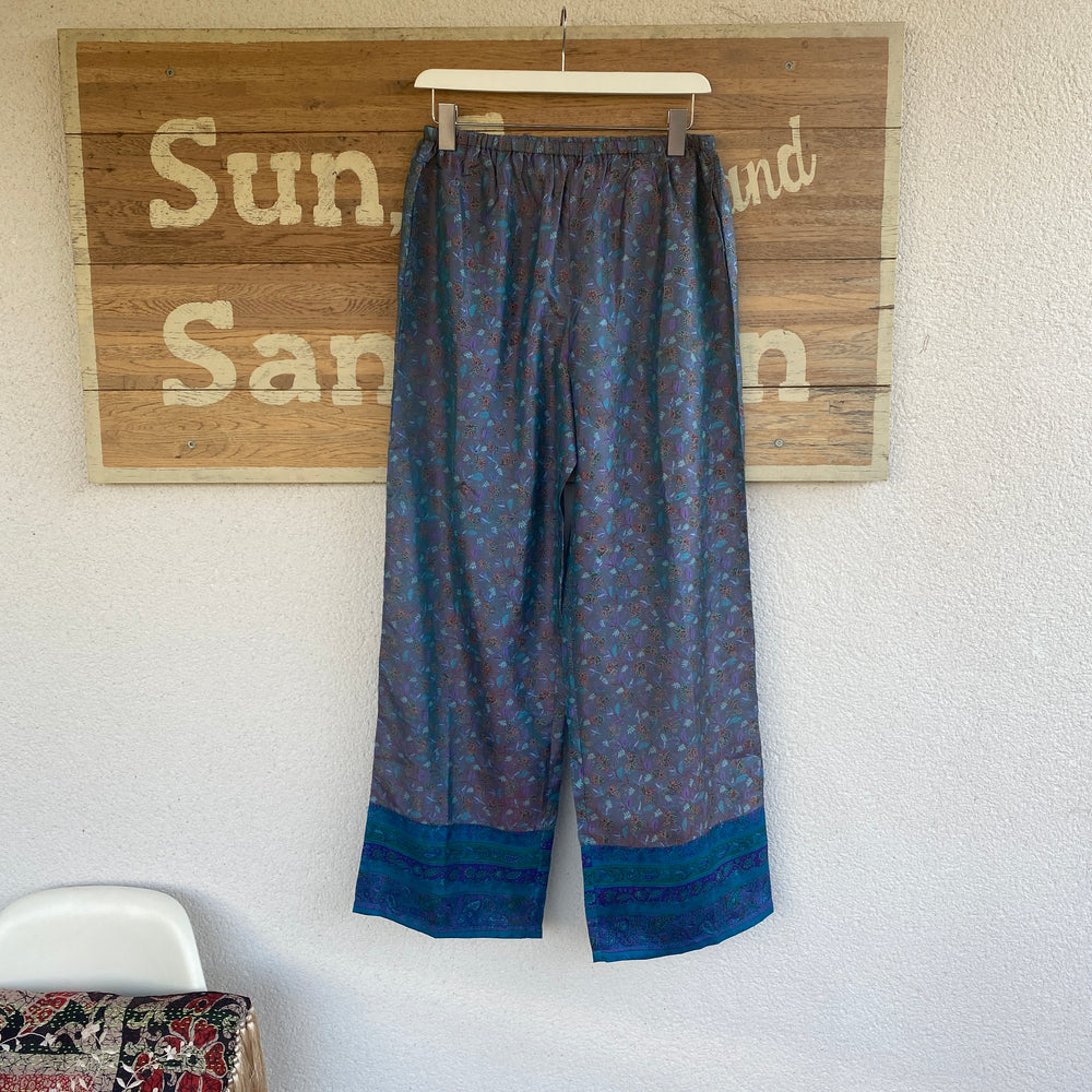 RECYCLED SILK PJ BOTTOMS (109)