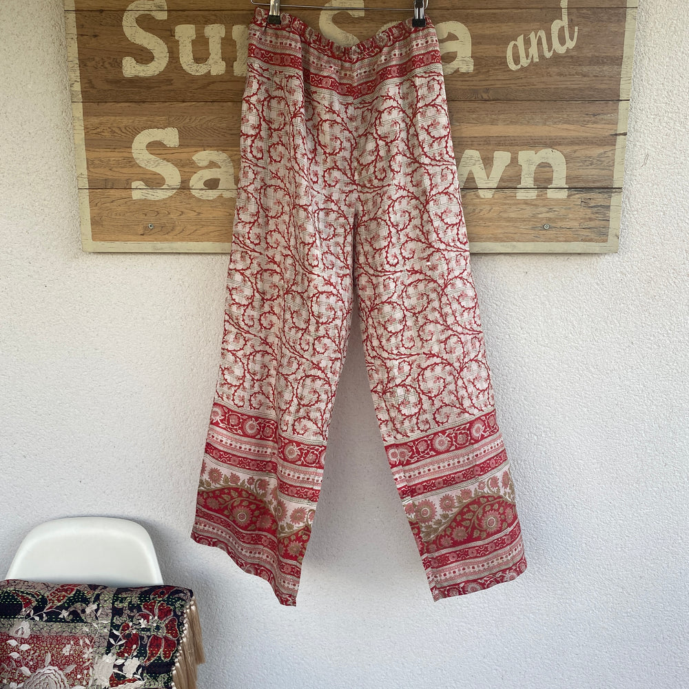 RECYCLED SILK PJ BOTTOMS (111)