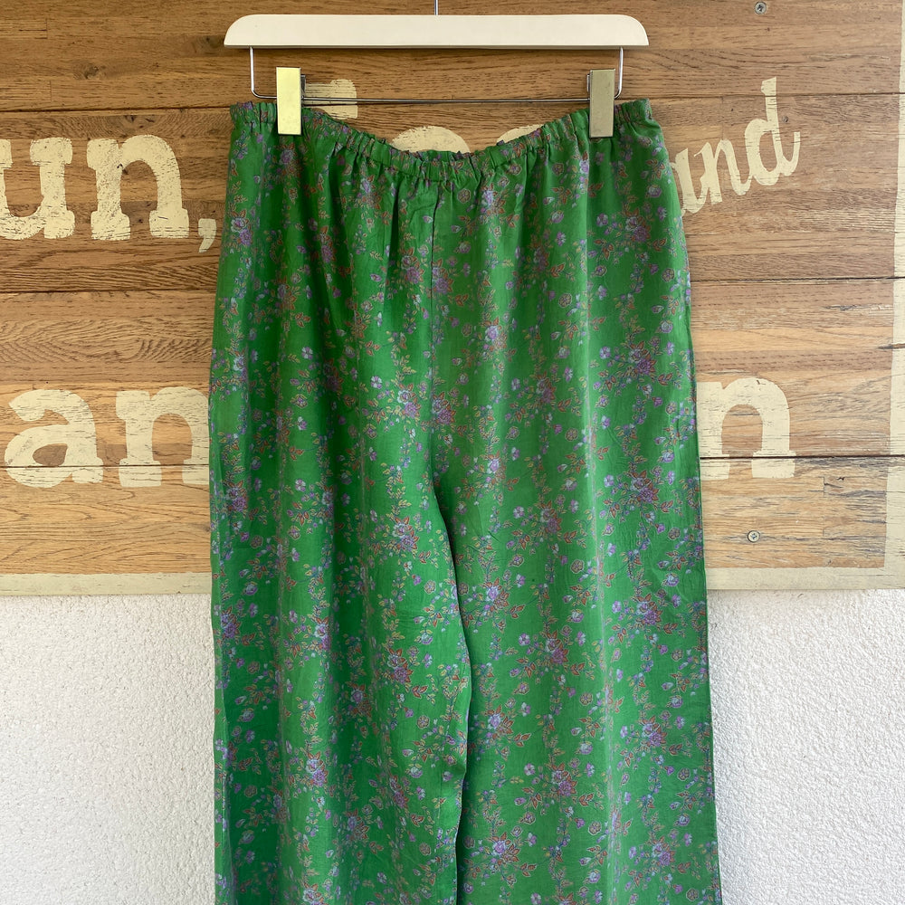 RECYCLED SILK PJ BOTTOMS (113)