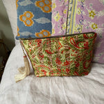 Recycled Kantha Travel Bag