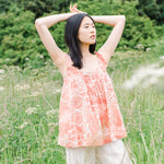 SITA ORGANIC COTTON TOP IN PINK