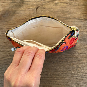 VINTAGE AFGHAN MIRROR PURSE