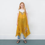 VIRGINIA JANET RECYCLED SILK EMBROIDERED DRESS
