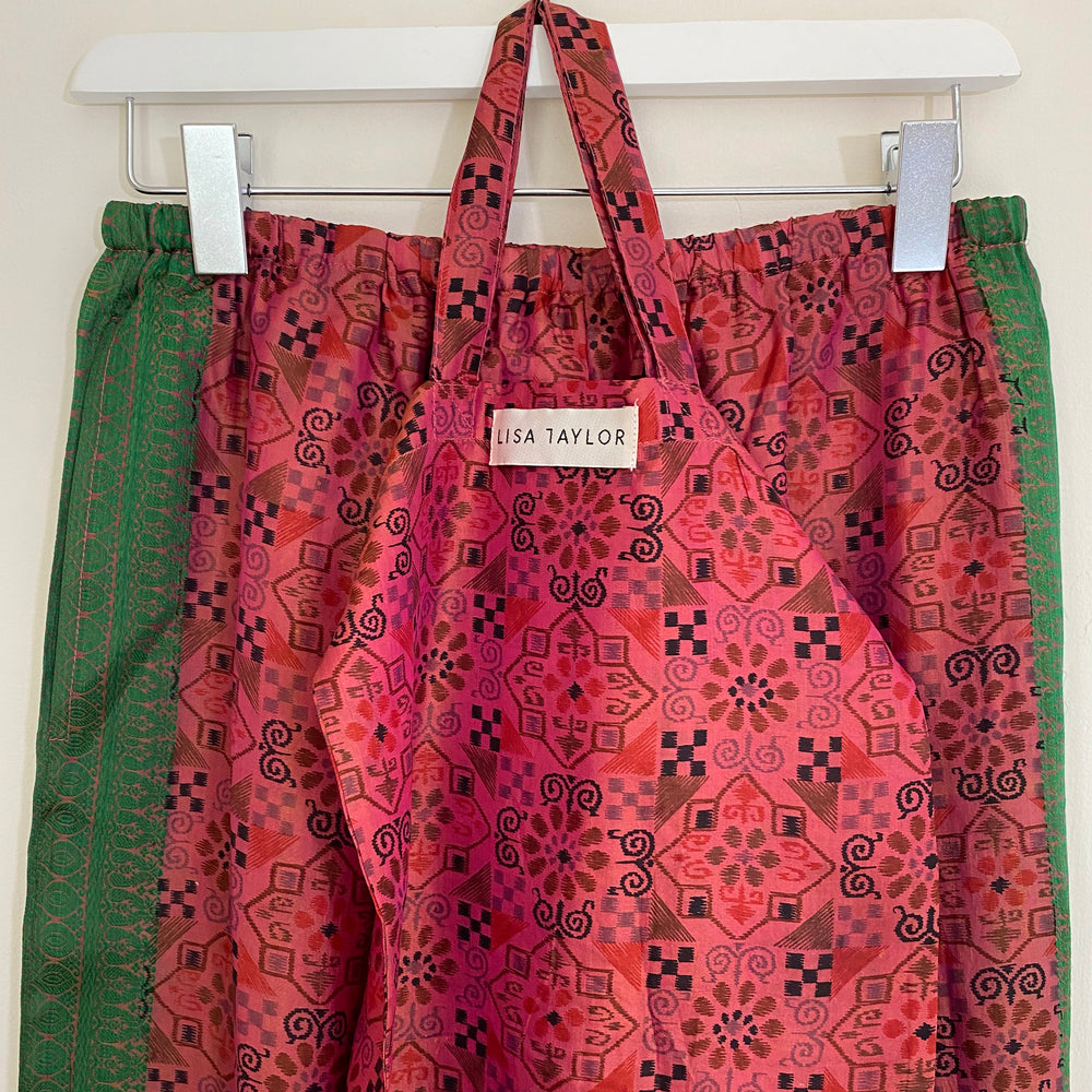 WALLIS RECYCLED SILK PJ BOTTOMS