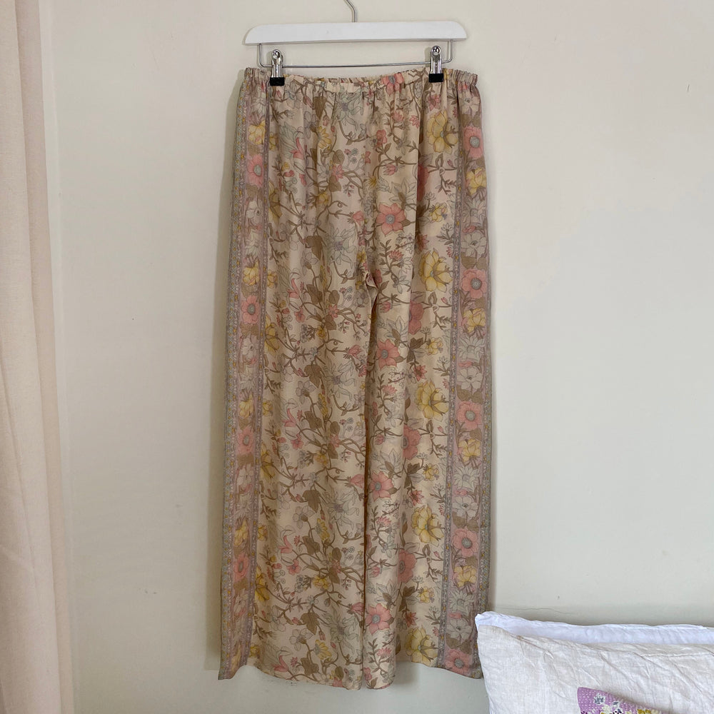 WAVERLY RECYCLED SILK PJ BOTTOMS