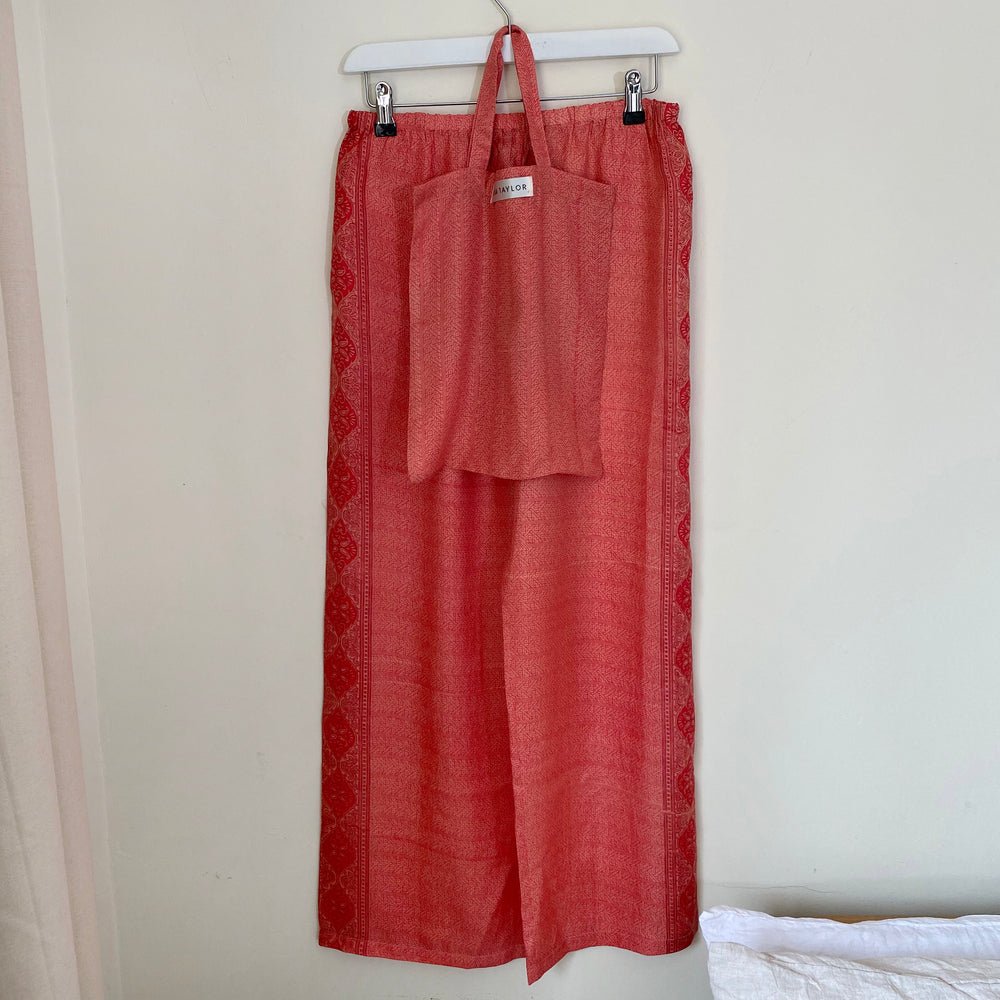 WILDE RECYCLED SILK PJ BOTTOMS