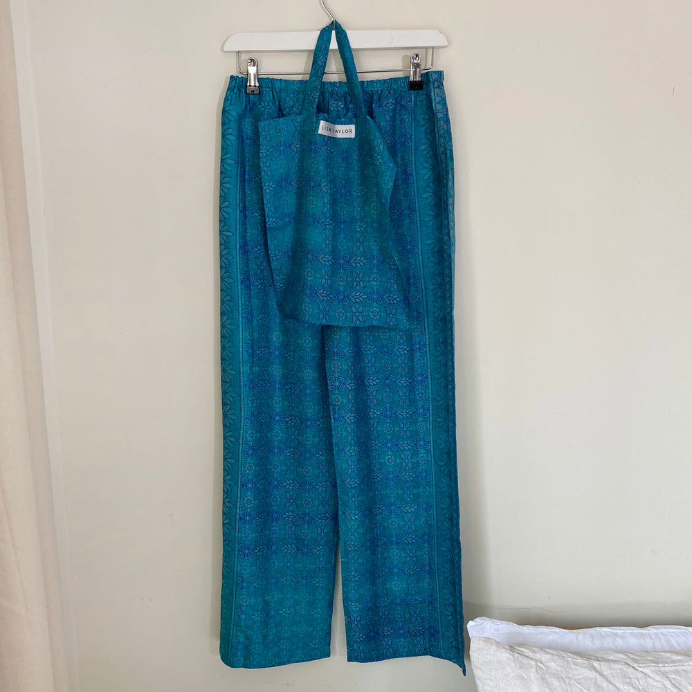 WILLOW RECYCLED SILK PJ BOTTOMS