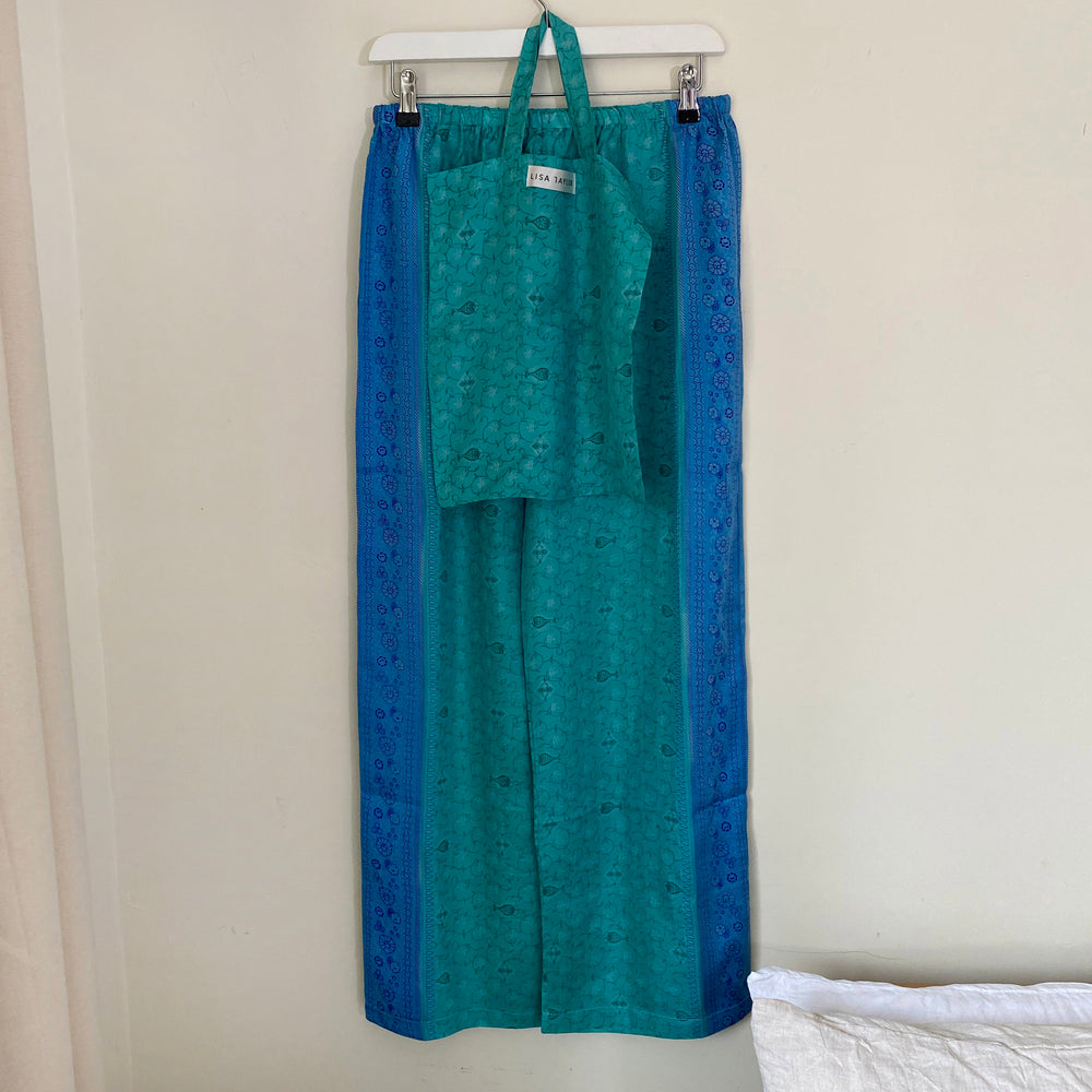 WIND RECYCLED SILK PJ BOTTOMS
