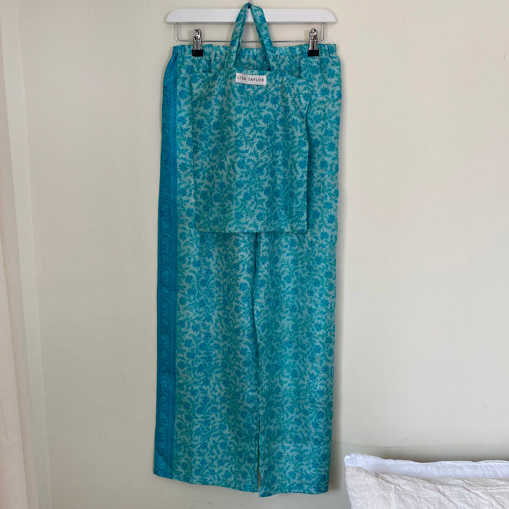 WINIFRED RECYCLED SILK PJ BOTTOMS