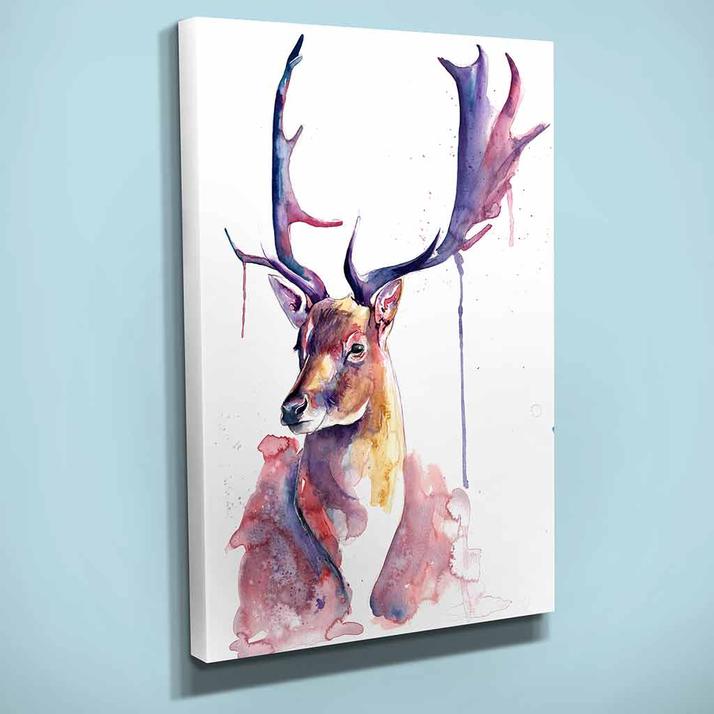 """Fairytale"" Stag Canvas Print"