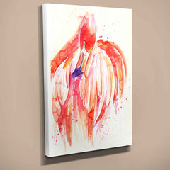 Flamingo Canvas Print