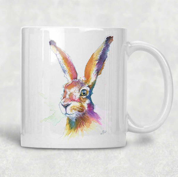 """Hartley"" Hare Mug"
